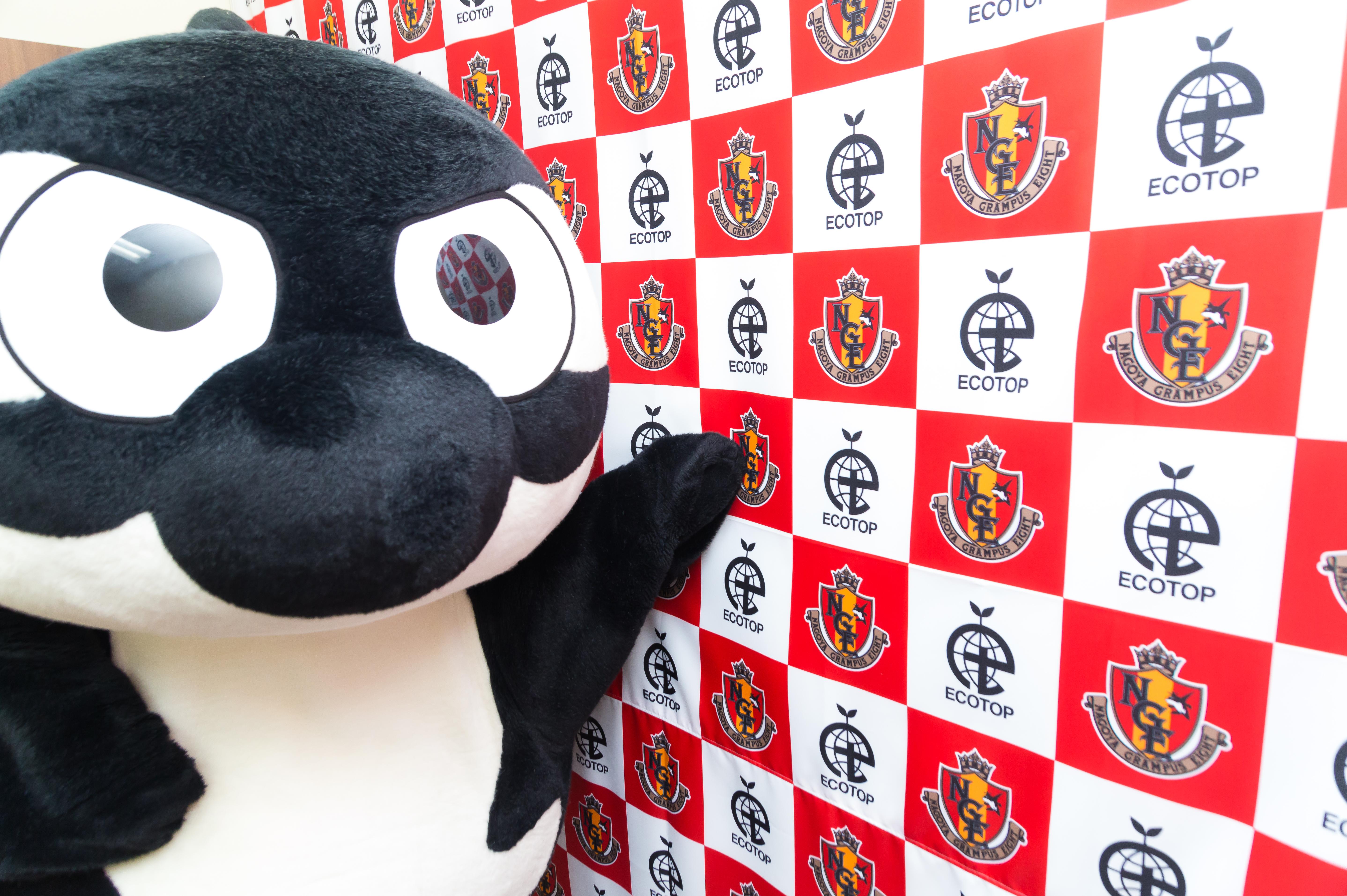 グランパス君&グランパコちゃん 株式会社エコトップ様【photo】
