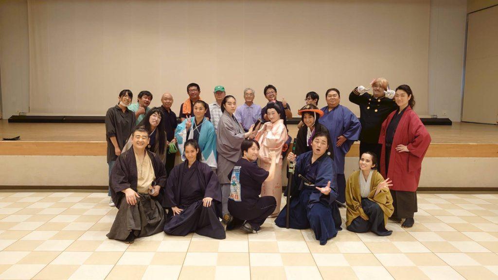 侍で演劇デビューしました!