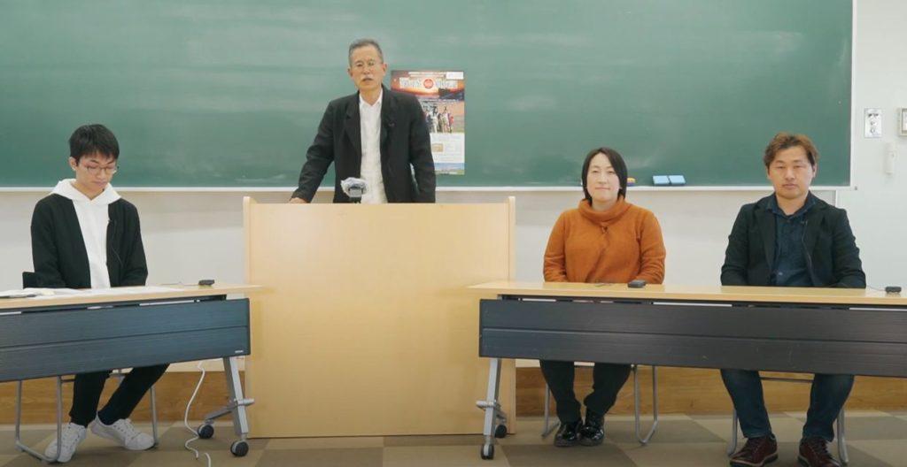 【静岡大学のテレビジョンに出演しました】